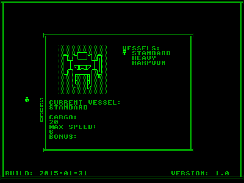 Screenshot of Seas of Scred